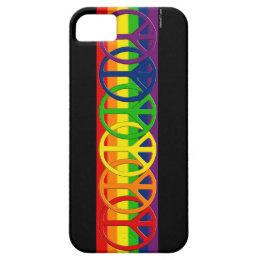 Rainbow Gay Peace iPhone 5 Cases