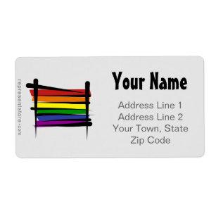 Gay Lesbian Address Labels