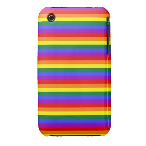 Rainbow Gay Pride iPhone 3 Covers