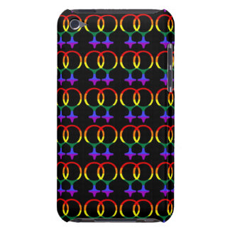 Rainbow Gay Pride Female Symbols Barely There iPod Covers