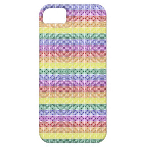 Rainbow Gay Pride Flag Abstract iPhone 5 Cases