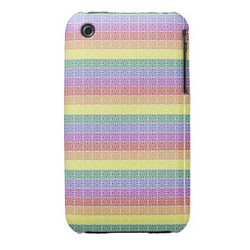 Rainbow Gay Pride Flag Abstract iPhone 3 Cases