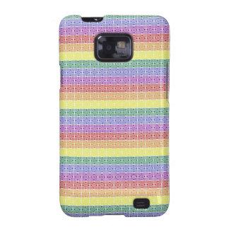 Rainbow Gay Pride Flag Abstract Samsung Galaxy SII Cover