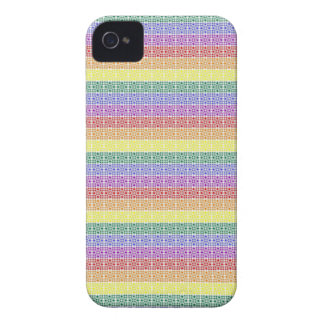 Rainbow Gay Pride Flag Abstract iPhone 4 Case-Mate Cases