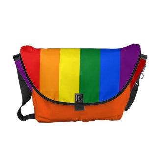 RAINBOW GAY PRIDE FLAG COURIER BAG