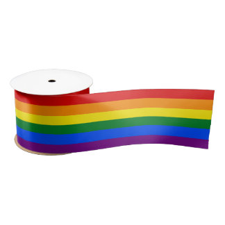 RAINBOW GAY PRIDE FLAG | RIBBON