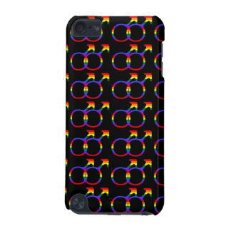 Rainbow Gay Pride Male Symbols iPod Touch (5th Generation) Cases