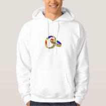 rainbow gay pride marriage equality hoodie