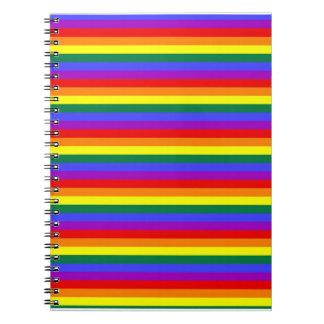 Rainbow Gay Pride Notebook