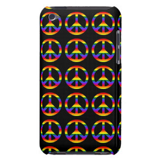 Rainbow Gay Pride Peace Symbol Case-Mate iPod Touch Case