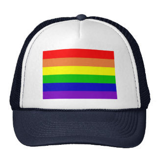 Rainbow Gay Rights Flag Trucker Hat