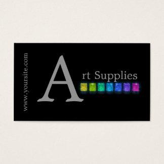 Rainbow Gem Tones Business Card