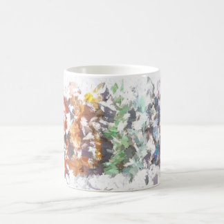 Rainbow Gemstone Coffee Mug