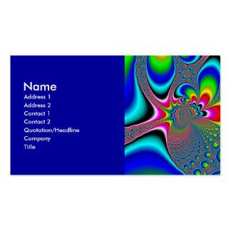 Rainbow Generator - Fractal Business Card