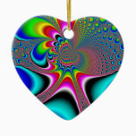 Rainbow Generator - Fractal Ceramic Ornament
