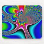 Rainbow Generator - Fractal Mouse Pad