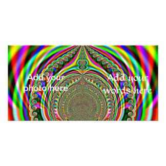 Rainbow Genies Lamp Fractal Photo Cards