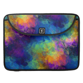 Rainbow Geologic Crystal Abstract Pattern Sleeve For MacBook Pro