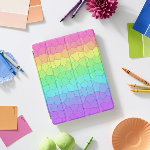 Rainbow Geometric iPad Smart Cover