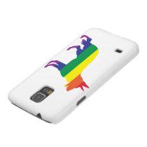 Rainbow German Shepherd Case For Galaxy S5