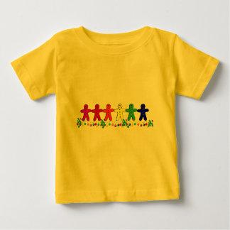 Rainbow Gingerbread Baby T-Shirt