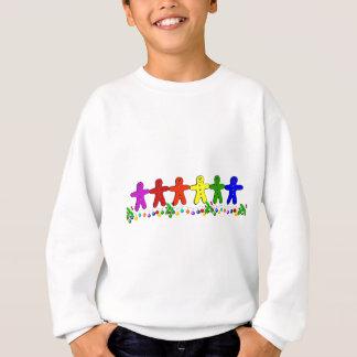 Rainbow Gingerbread Sweatshirt