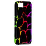 Rainbow Giraffe Print iPhone 5 Covers