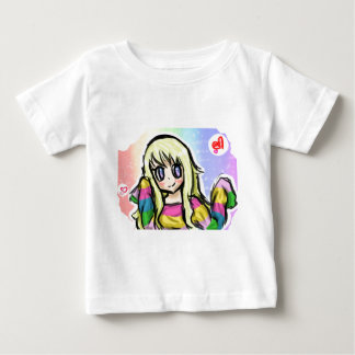 Rainbow Girl Baby T-Shirt