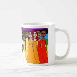 Rainbow Girls Coffee Mug
