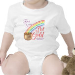 Rainbow Girls Find Your Pot of Gold Tee Shirt