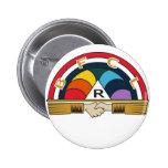 rainbow girls pins