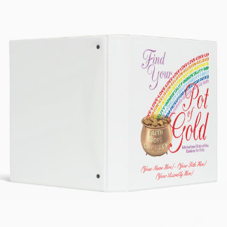 Rainbow Girls Pot of Gold Binder - IORG