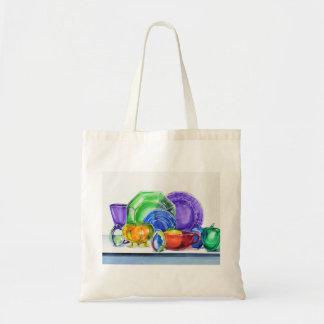 Rainbow Glass No. 5 Tote Bag