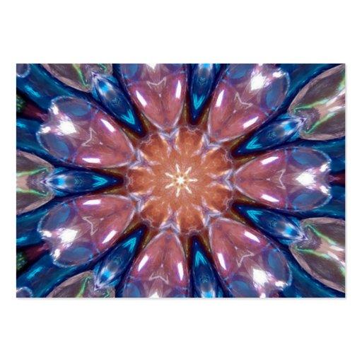 Rainbow Glass Prism Kaleidoscope Business Card Templates