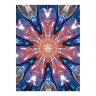 Rainbow Glass Prism Kaleidoscope Card