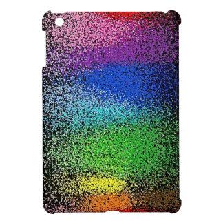 rainbow glitter ipad mini case