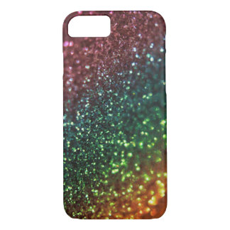 Rainbow Glitter iPhone 7 Case