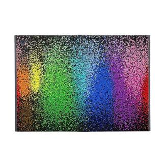 rainbow glitter ipowis ipad case