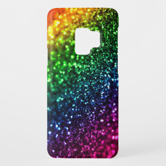 Rainbow Glitter Psychedelic Bling Case-Mate Samsung Galaxy S9 Case