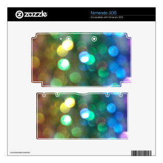 Rainbow Glitter Skins 3DS Decal
