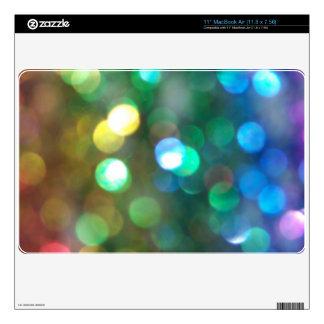 Rainbow Glitter Skins Skins For MacBook