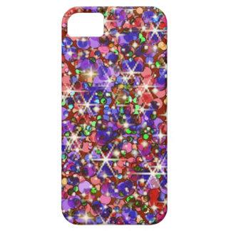 Rainbow glitter sparkle iPhone SE/5/5s case