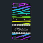 "Rainbow Glitter Sparkles Zebra 5G iPod Touch Case<br><div class=""desc"">Girly-Girl-Graphics at Zazzle: Colorful Rainbow Glitter Sparkles Zebra Customizable Case-Mate Barely There 5th Generation Apple iPod Touch Case. ☆ Please, note: Like all Zazzle products, this is a PRINT ONLY with NO real diamonds or 3D sparkles. Thank you kindly for your purchase. #girls #womens #fsahion #style #girlygirlgraphics #zazzle Copyright (c)...</div>"