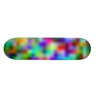 Rainbow Glow Skateboard Deck