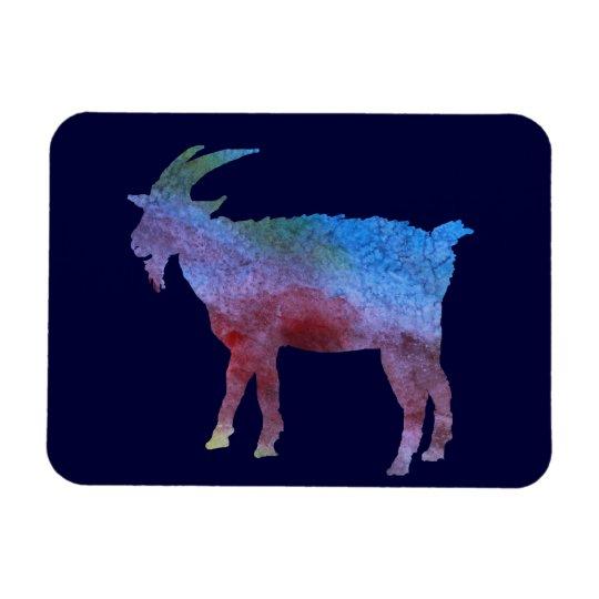 Rainbow Goat Magnet