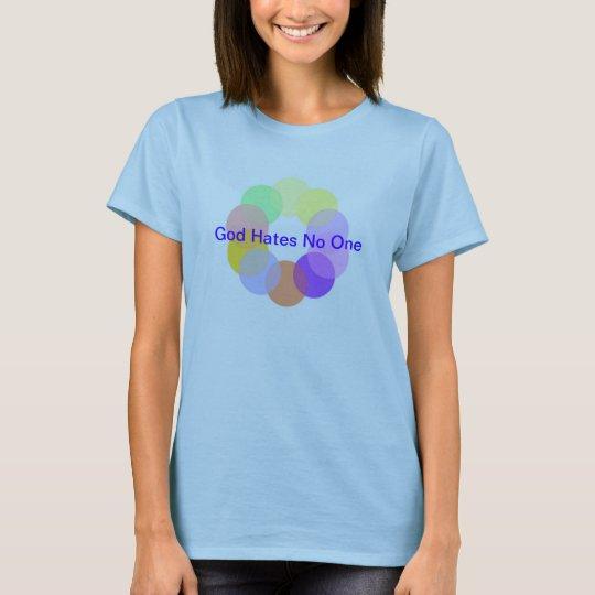 Rainbow God Hates No One T-shirt
