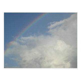 Rainbow, God is for us! Postcard