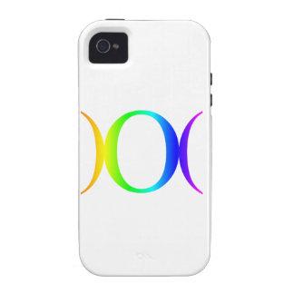 Rainbow Goddess Symbol #3 Case-Mate iPhone 4 Cover