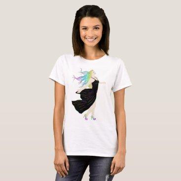 Beach Themed Rainbow Goddess T-Shirt