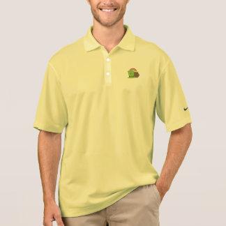 rainbow gold and leprechaun polo shirt